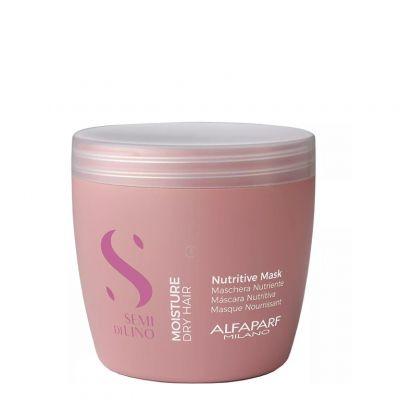 Alfaparf Semi Di Lino Nutritive, maska nawilżająca, 500 ml