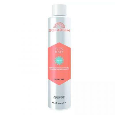 Alfaparf Solarium, szampon odżywiająco-wygładzający do włosów, 250 ml