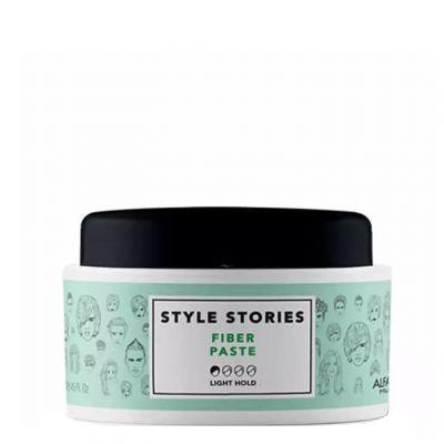 Alfaparf Style Stories Fiber Paste, włóknista pasta do włosów, 100 ml