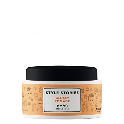 Alfaparf Style Stories Glossy Pomade, pomada nabłyszczająca, 100 ml
