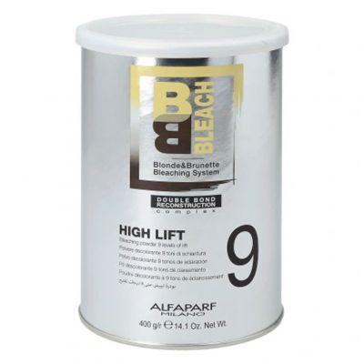 Alfaparf BB, puder rozjaśniający do 9 tonów, High Lift, 400 g