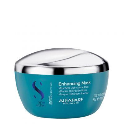 Alfaparf Semi Di Lino Curls Enhancing Mask, maska do włosów kręconych, 200 ml