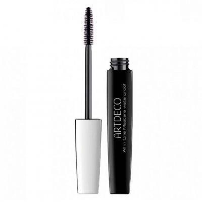 Artdeco All in One Waterproof Black Mascara, wodoodporny tusz do rzęs, 10 ml
