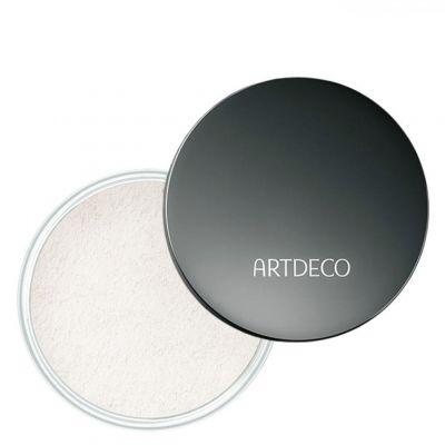 Artdeco Fixing Powder Box, bezbarwny puder utrwalający makijaż, 10g