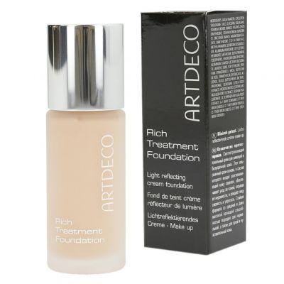 Artdeco Rich Treatment Foundation, rozświetlający podkład do twarzy, 20 ml