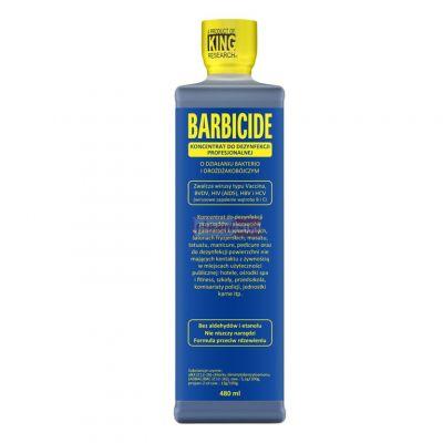 Barbicide, koncentrat do profesjonalnej dezynfekcji narzędzi i akcesoriów, 480 ml