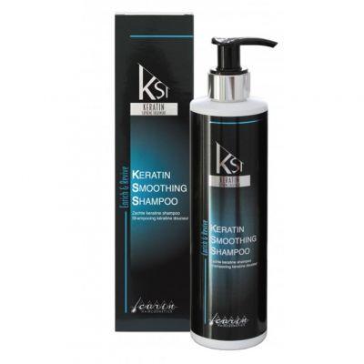 Carin Keratin Smoothing Shampoo, keratynowy szampon do włosów, 300 ml