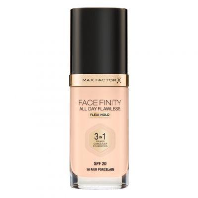 Max Factor Facefinity 3in1 Foundation, kryjący podkład do twarzy w płynie, 30 ml