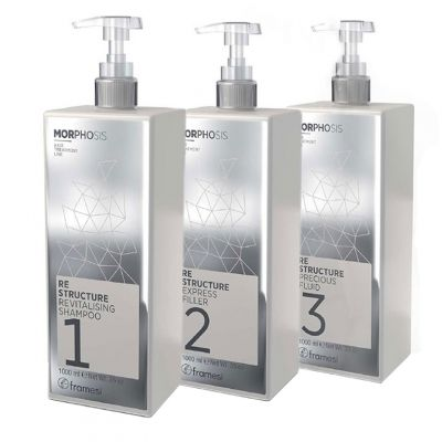 Framesi Morphosis Re-Structure Zestaw, 3x1000ml