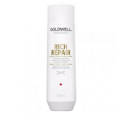 Goldwell Dualsenses Rich Repair, szampon do włosów zniszczonych, 250 ml