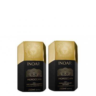 Inoar Moroccan Keratin Small Set, 2x250ml