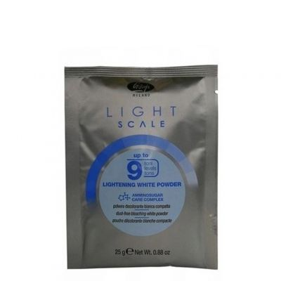 Lisap Light Scale, rozjaśniacz do 9 tonów w saszetce, 25 g
