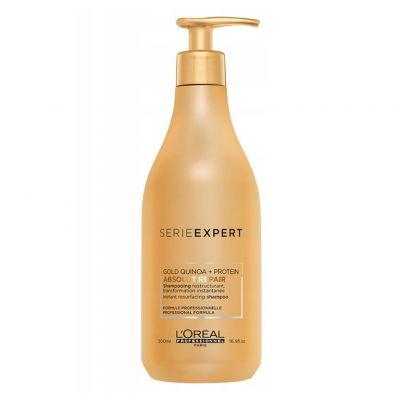 Loreal Expert Absolut Repair Gold, regenerujący szampon do włosów zniszczonych, 500 ml