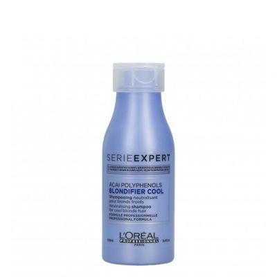 Loreal Expert Blondifier Cool Shampoo, szampon ochładzający odcienie blond, 100 ml