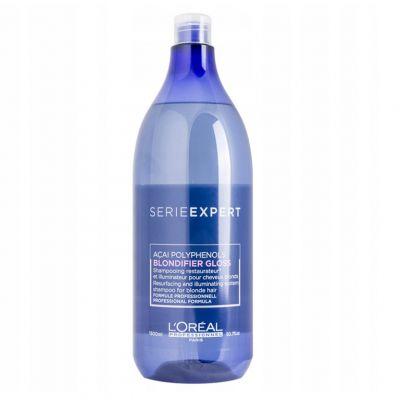 Loreal Expert Blondifier Gloss, szampon nabłyszczający do włosów blond, 1500 ml