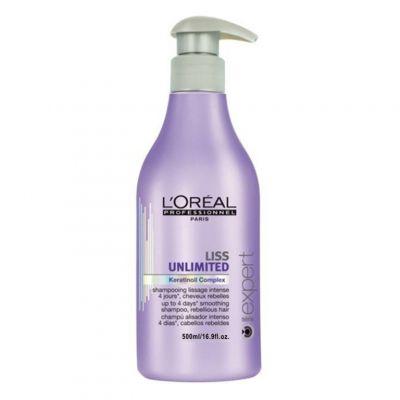 Loreal Expert Liss Unlimited, szampon wygładzający, 500 ml