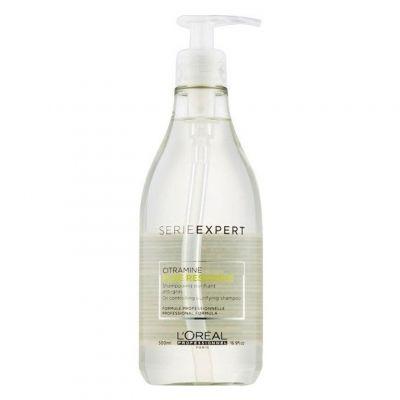 Loreal Expert Pure Resource, szampon oczyszczający do włosów przetłuszczających się, 500 ml