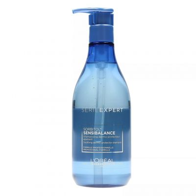 Loreal Expert Sensi Balance, szampon kojąco ochronny do wrażliwej skóry głowy, 500 ml