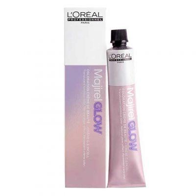 Loreal Majirel Glow, rozświetlająca trwała farba do włosów, 50 ml