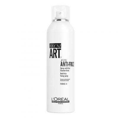 Loreal Tecni Art Fix Anti-Frizz, spray mocno utrwalający, 250 ml