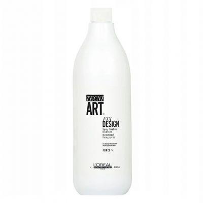 Loreal Tecni Art Fix Design, precyzyjny spray do miejscowego utrwalenia, 1000 ml