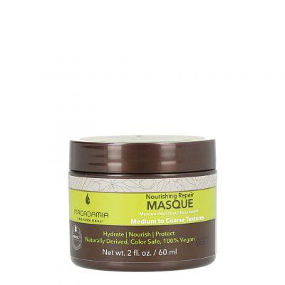Macadamia Nourishing Moisture Masque, nawilżająca maska do włosów suchych, 60ml