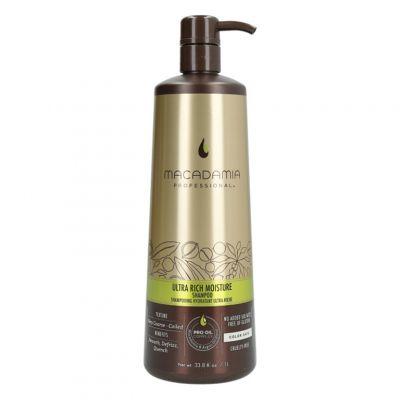 Macadamia Professional Ultra Rich Moisture, szampon nawilżający, 1000 ml