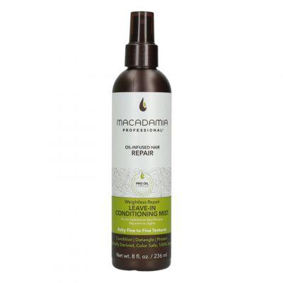 Macadamia Professional Weightless Moisture Conditioning Mist, nawilżająca mgiełka do włosów cienkich, 237ml