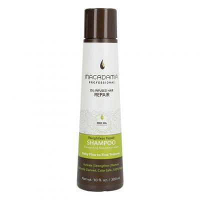 Macadamia Professional Weightless Moisture Shampoo, nawilżający szampon do włosów cienkich, 300ml