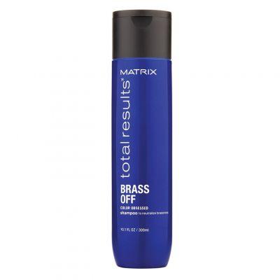 Matirx Total Results Brass Off, szampon do włosów rozjaśnianych, 300 ml