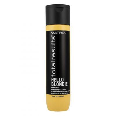 Matrix Total Results Hello Blondie, odżywka do pielęgnacji włosów blond, 300 ml