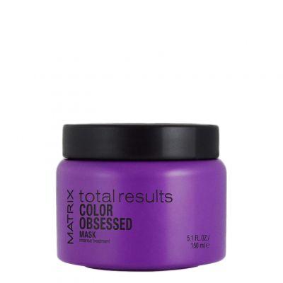 Matrix Total Results Color Obsessed, maska do włosów farbowanych, 150 ml