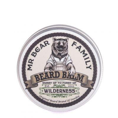 Mr. Bear Family Beard Balm Wilderness, zapachowy balsam do brody, 60ml