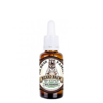 Mr. Bear Family Beard Brew Wilderness, zapachowy olejek do brody, 30ml