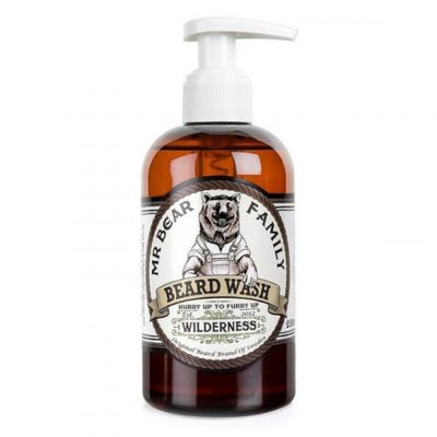 Mr. Bear Family Beard Wash Wilderness, szampon do brody, 250ml
