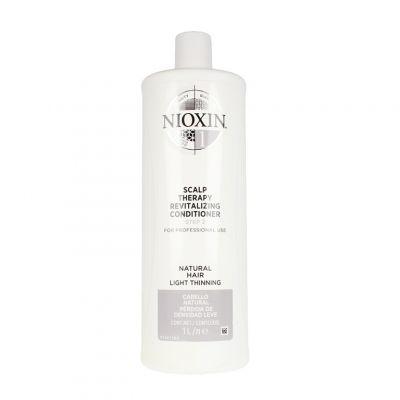 Nioxin System 1 Scalp Therapy Revitalizing Conditioner, do włosów naturalnych, lekko przerzedzonych, 1000 ml