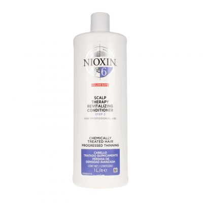 Nioxin System 6 Scalp Therapy Revitalizing Conditioner, do włosów rozjaśnianych, mocno przerzedzonych, 1000 ml