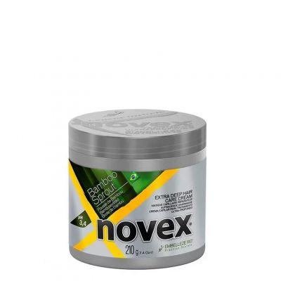 Novex Bamboo Sprout Mask, maska nawilżająca do włosów suchych i łamliwych, 210 g