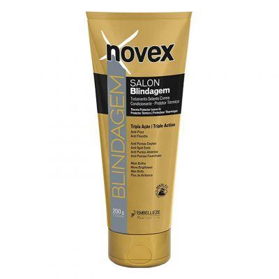 Novex Gold Capillary Shield, keratynowa odżywka bez spłukwiania, 200 ml
