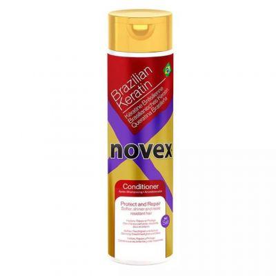 Novex Brazilian Keratin Conditioner, odżywka do włosów z keratyną, 300 ml