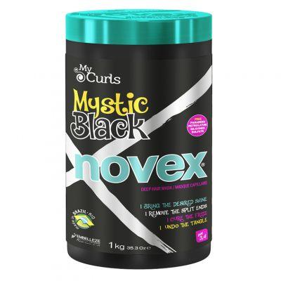 Novex Mystic Black Baobab Oil, maska do włosów suchych i zniszczonych, 1000 g