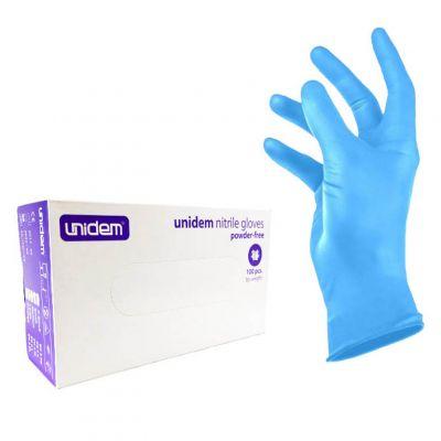 Unidem, rękawice nitrylowe, 100 szt.