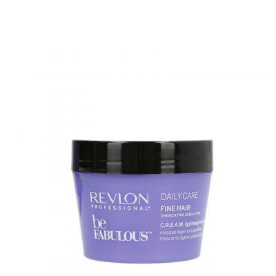 Revlon Be Fabulous Fine Hair, lekka maska do włosów cienkich, 200ml