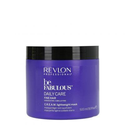 Revlon Be Fabulous Fine Hair, lekka maska do włosów cienkich, 500ml
