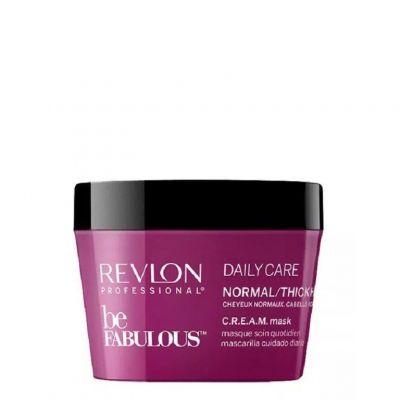 Revlon Be Fabulous Normal Hair Conditioner, maska do włosów normalnych i grubych, 250 ml