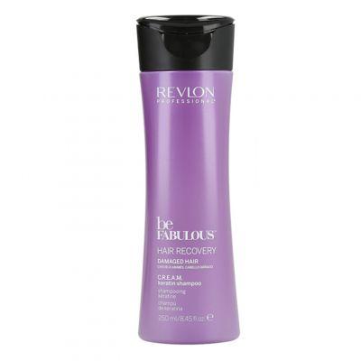 Revlon Be Fabulous Recovery Cream Shampoo, szampon do włosów zniszczonych, 250ml