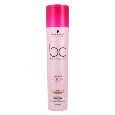 Schwarzkopf BC Color Freeze Golden Shimmer Shampoo, szampon do włosów farbowanych, 250 ml