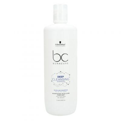 Schwarzkopf BC Deep Cleansing Shampoo, micelarny szampon oczyszczający, 1000 ml