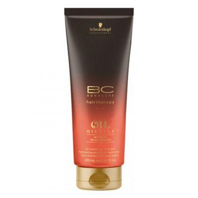 Schwarzkopf BC Oil Miracle Argan Oil, szampon do włosów normalnych i grubych, 200 ml