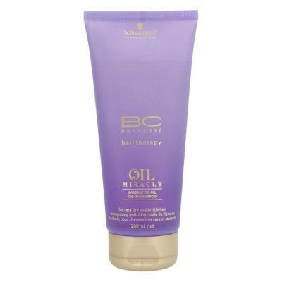 Schwarzkopf BC Oil Miracle Barbary Fig Oil Shampoo, szampon odbudowujący, 200 ml